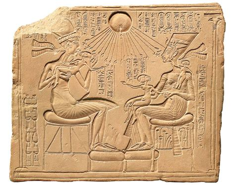 akhenaten and his family art history midterm at university of florida studyblue