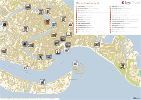 venice italy map venice italy tourist attractions map