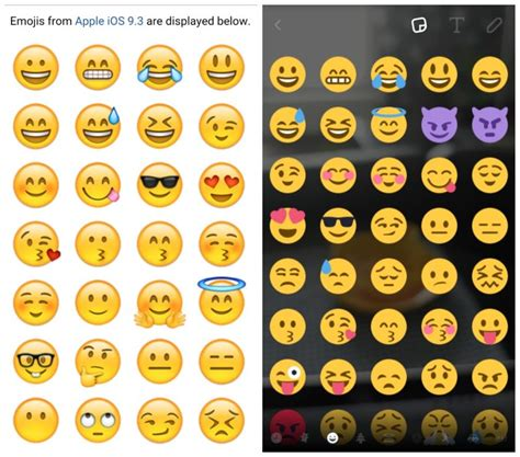 ios emojis for android did just use an iphone to announce android nougat android authority