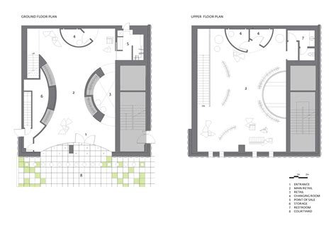 small store floor plan showcase 3 1 phillip lim seoul flagship store features