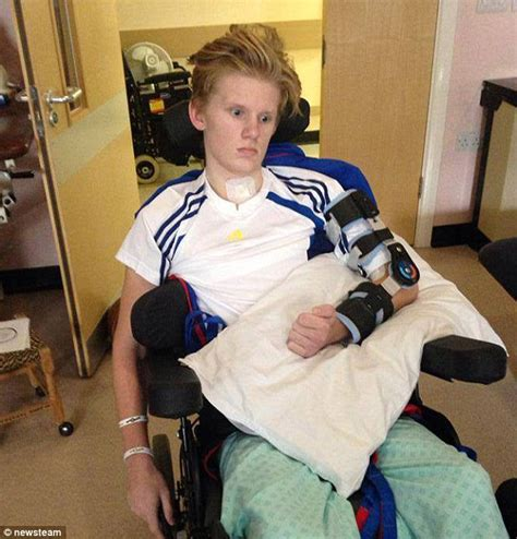 Miraculous moment 16 year old cyclist wakes from four