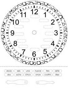 time in spanish printout spanish worksheets for children espa 241 ol para ni 241 os actividades