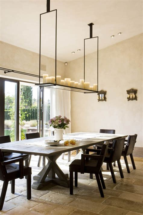 dining room candle chandelier let there be light an amazing way to light a dining room