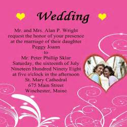 wedding invitation wording wordings for wedding invitation cards