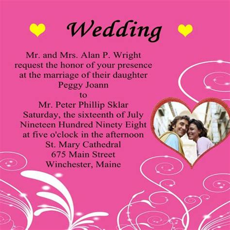 how to make marriage invitation card wedding invitation wording wordings for wedding