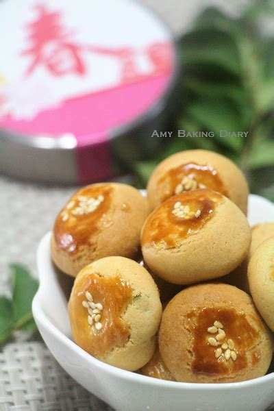 new year salted egg cookies baking diary salted egg yolk cookies