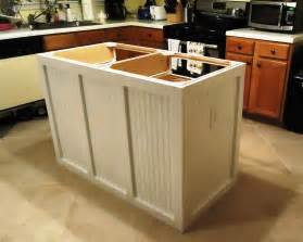 Building A Kitchen Island by Walking To Retirement The Diy Kitchen Island