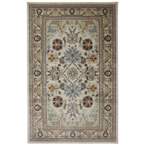 charisma rugs charisma butter pecan 5 ft x 8 ft area rug