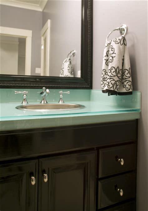 glass vanity tops for bathrooms glass vanity top