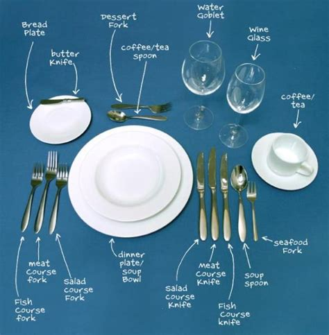 formal table setting formal dinner etiquette etiquette guide party