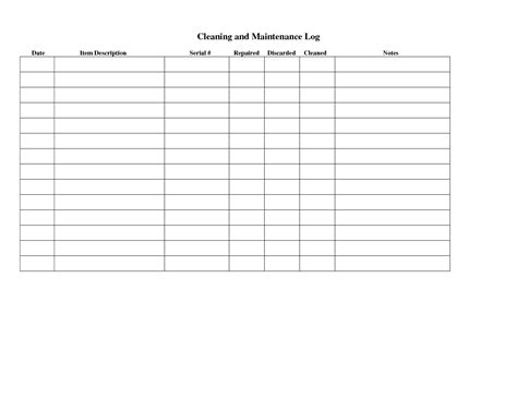 bathroom cleaning log template restroom cleaning log anuvrat info