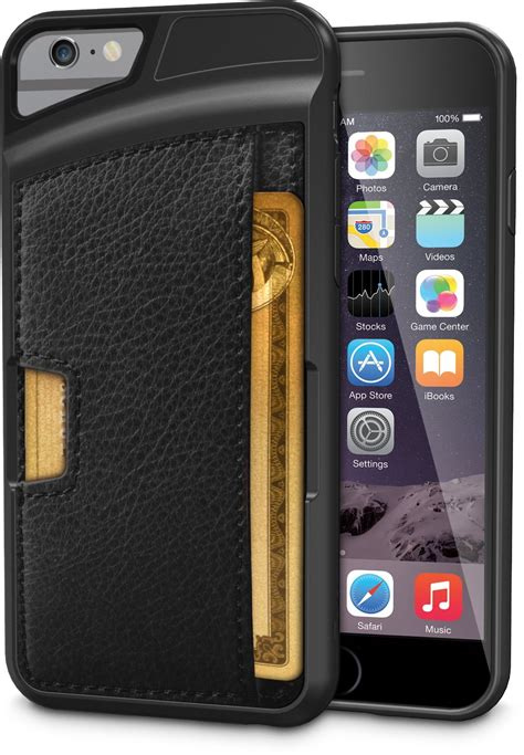 cm4 q card for iphone 6s doubles as a wallet