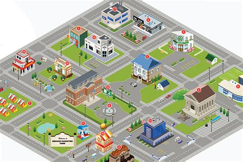 town map inbound marketing town see the kwasi studios