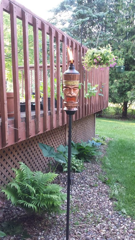 backyard torches lanterns 36 best images about tiki torches on pinterest