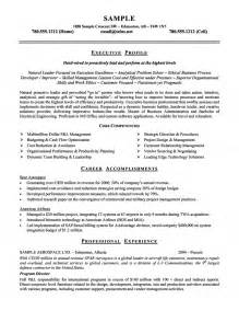 Navy Aerospace Engineer Sle Resume by Aerospace Airline Executive Resume