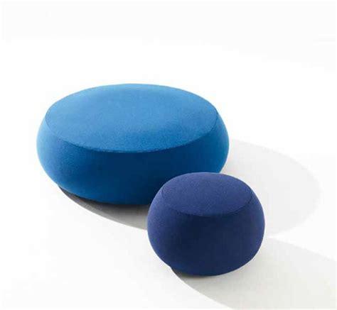soft ottoman pouf fabric pouf soft round ottoman pix by arper