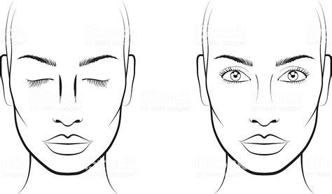 Face Template For Makeup Saubhaya Makeup Makeup Chart Template