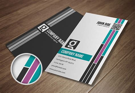 design id card unik 10 template desain kartu nama untuk para pemula bisnis