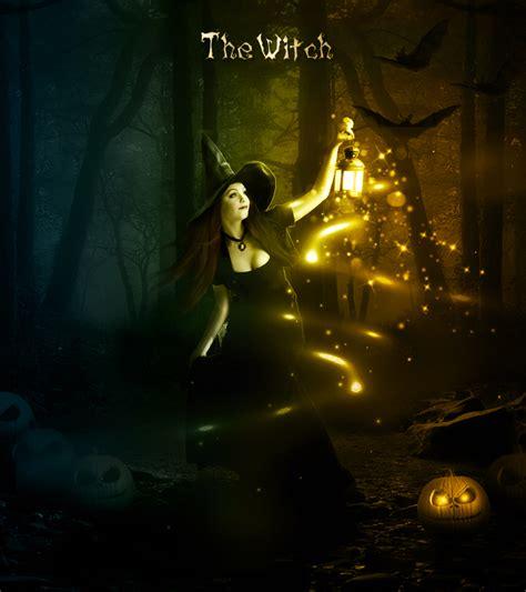 photoshop cs3 halloween tutorial halloween night witch photoshop manipulation tutorial