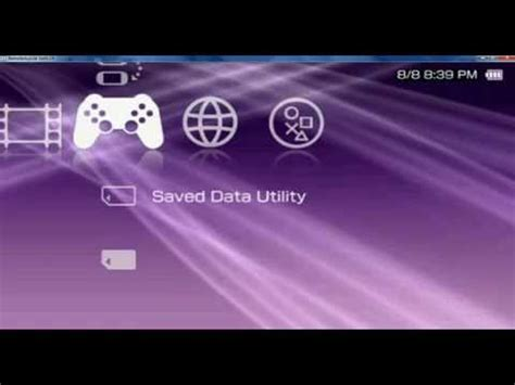 theme psp cxmb 6 60 psp clear xmb ctf theme for 6 60 pro b10 youtube