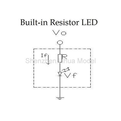 led with built in resistor 12v dip led built in resistor