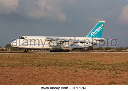 antonov an 124 ruslan heavy cargo jet of the russian air stock photo 50261826 alamy