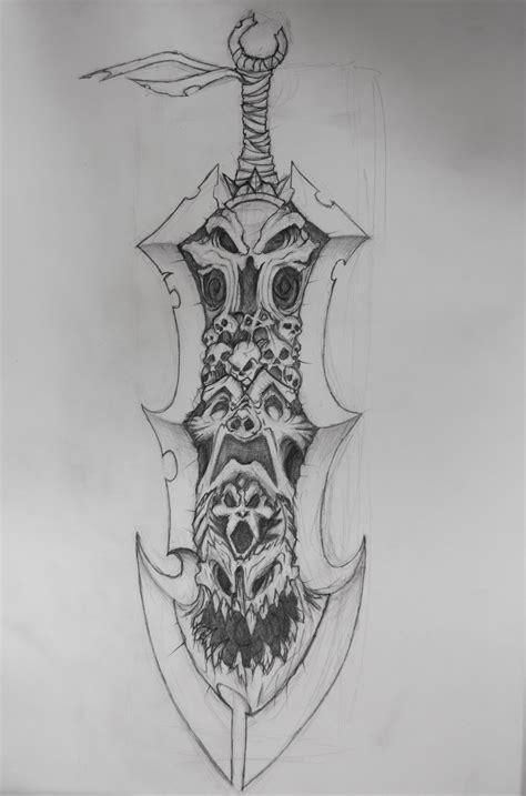 darksiders sword darksiders sword chaoseater by stylllus on deviantart