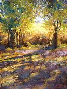 pastel landscape pastel landscape