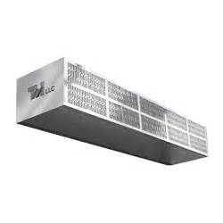 low profile air curtain curtron s lp 60 1 60 quot heated low profile air curtain 1
