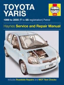 toyota yaris petrol 99 05 t to 05 haynes publishing