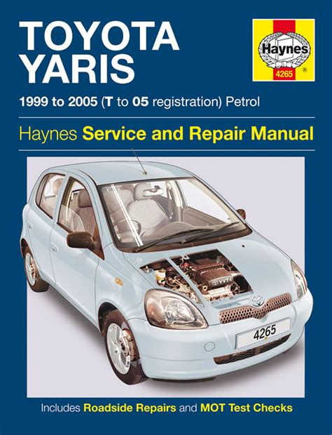 toyota yaris petrol 99 05 t to 05 haynes publishing