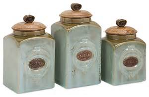 classic style multi set addison ceramic canisters home decor fioritura kitchen canister