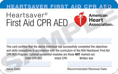 Aha Healthcare Provider Cpr Card Writable Template by Renewal Cpr Certification The Response Institute Cpr