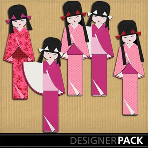 printable japanese paper dolls clip art japanese paper dolls friends girls holidays