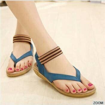 Sepatu Sandal Flat Wanita Modis Murah sandal teplek wanita cantik model terbaru murah modis