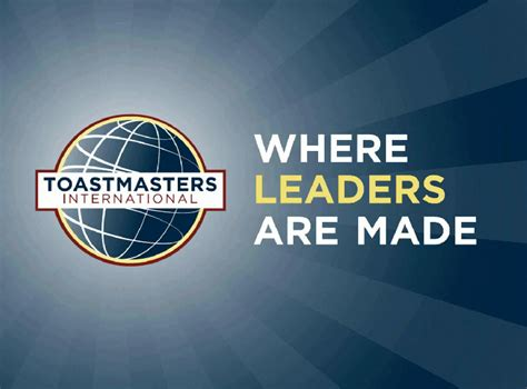 Toasters International it s official fresh new logo toastmasters of union