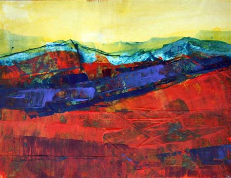 Abstract Landscape Uk Landscape Paintings Gallery Mitzie Green Hertfordshire