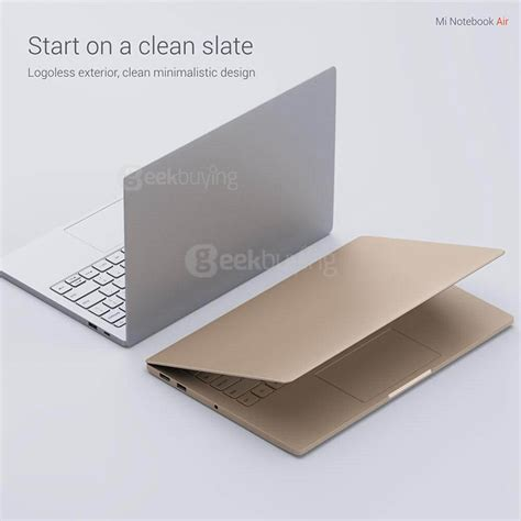 Xiaomi Mi Notebook Air 12 5 Inch Slim Original New 100 Bergaransi xiaomi mi notebook air 12 5 inch laptop gold
