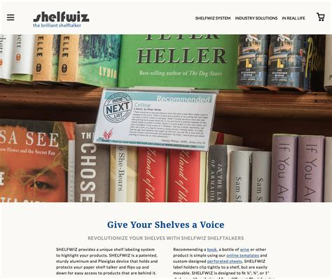 Revolutionize Your Shelves With Shelfwiz Shelftalkers Shelfwiz Retail Shelf Labels Template