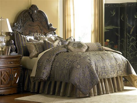 bronze coverlet charisma royal bronze king coverlet from aico bcs kcov