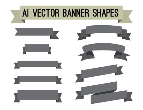design large banner in illustrator adobe illustrator ai vector banners digital clipart file