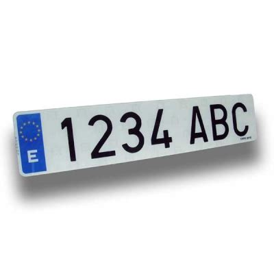 placas de carro en ingles comprar placas de matr 205 cula acr 205 licas y pl 193 stico coche