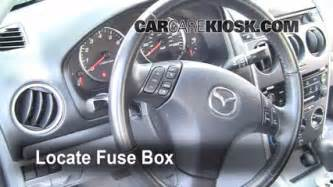 interior fuse box location 2003 2008 mazda 6 2006 mazda 6 i 2 3l 4 cyl sedan 4 door