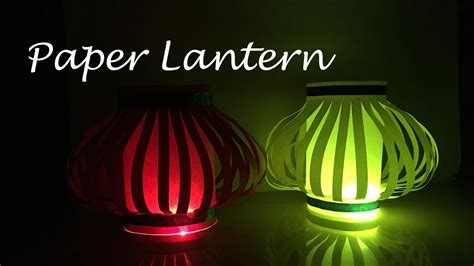 How To Make Lantern From Paper - diy how to make a paper lantern diwali decorations
