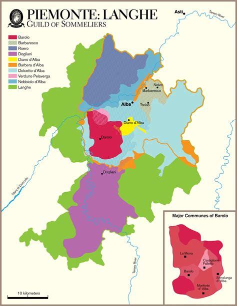 piemonte on line el langhe piemonte italia regi 243 n vin 237 cola mapas