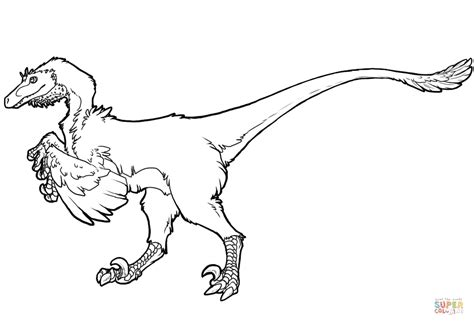 free printable velociraptor coloring pages raptor dinosaur coloring page free printable coloring pages