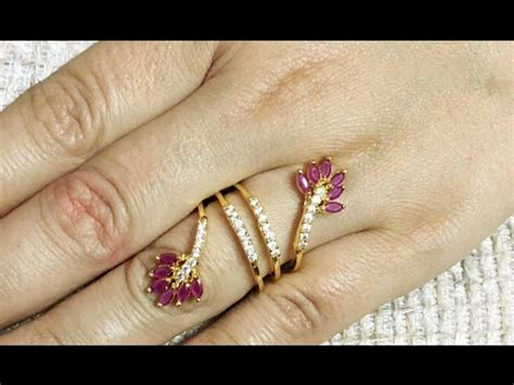 Beautiful Ring Design In Gold With by Top Beautiful Dailywear Gold Rings Designs For Women South