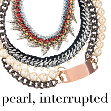 4 Jewelry Trends by 2011 Jewelry Trends Pearl Statement Necklaces Popsugar