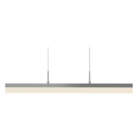 Rectangle Pendant Light Sonneman Lighting Stiletto Satin White Led Pendant Light With Rectangle Shade 2345 03