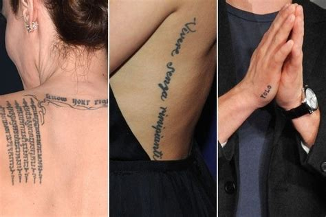 tattoo trivia quiz can you guess the celebrity by their tattoos trivia